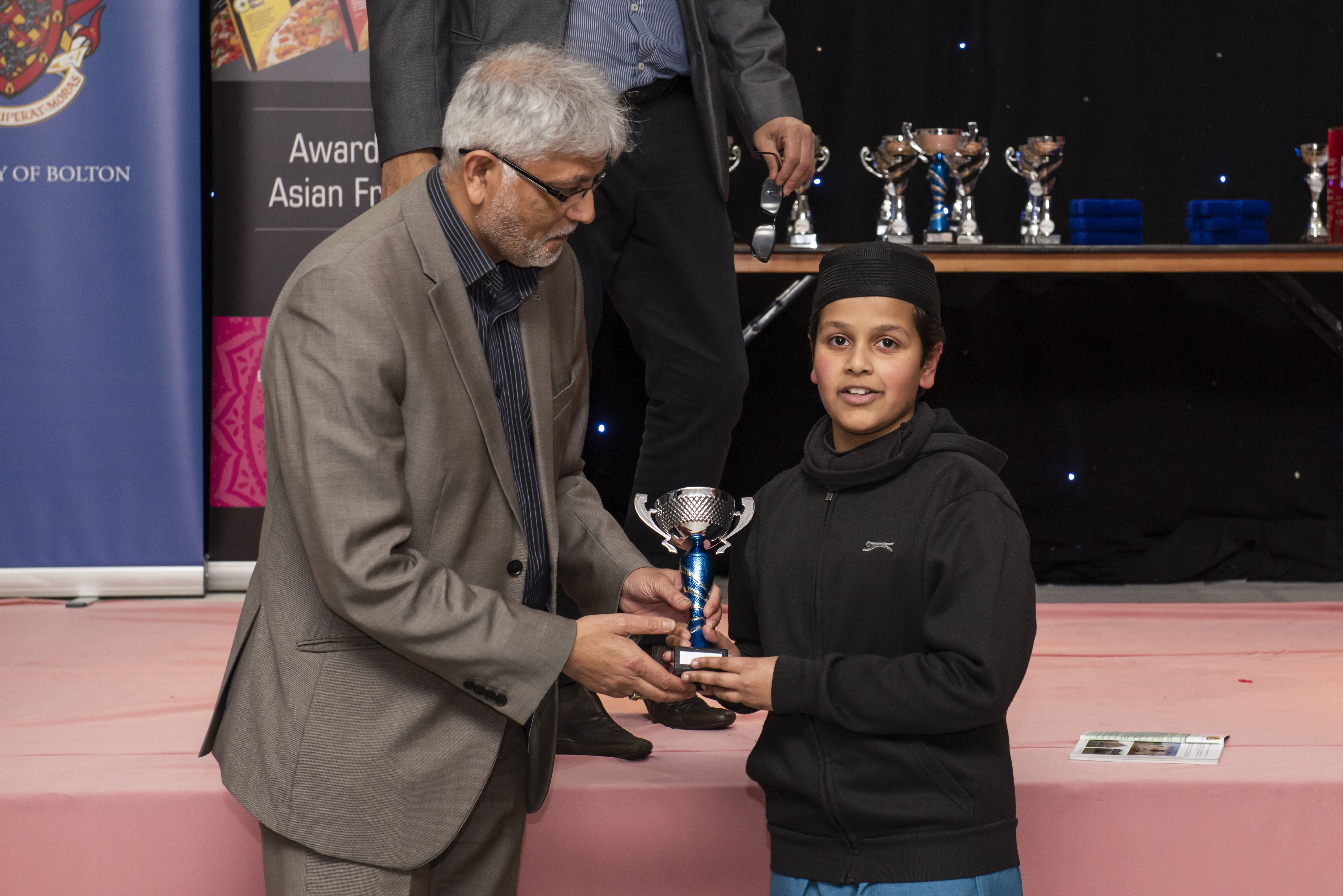 Fazilas support young people in Bolton